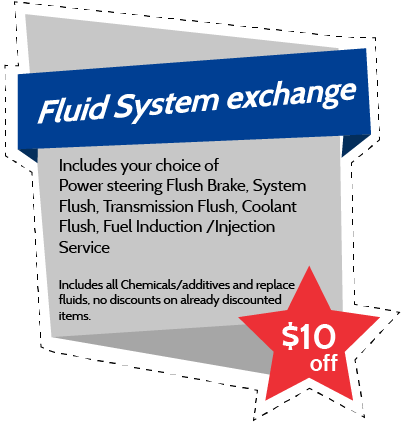 Fluid System exchange